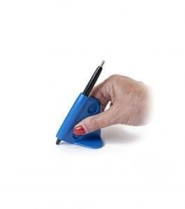 עזר להחזקת כלי כתיבה