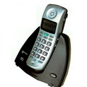 Amplidect 15 wireless phone with call lady and ringtone