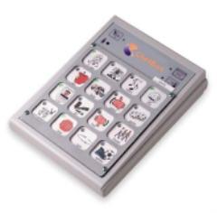 Chatbox מכשיר תקשורת עם פלט קולי, 16 תאי הקלטה