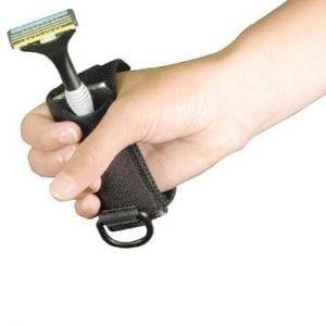 התקן לסכין גילוח ידנית