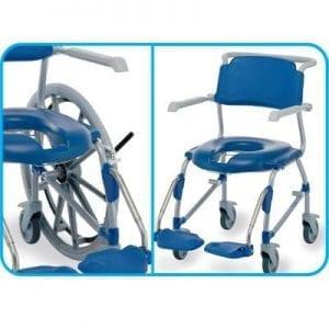 לגונה – כסא שירותים ורחצה להנעה עצמית