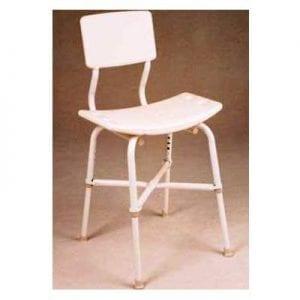 כסא רחצה למקלחת גבוה