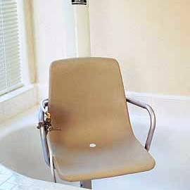 כסא אמבט מסתובב