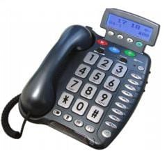 Geemarc CL400 phone with large keys and increase call