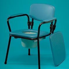 כסא שירותים הניתן לערימה