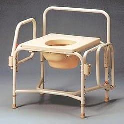 כסא שירותים רחב במיוחד