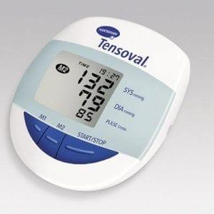 מד לחץ דם Tensoval למדידה על הזרוע.