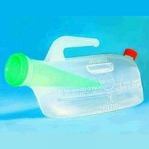 בקבוק שתן מונע התזות לגברים