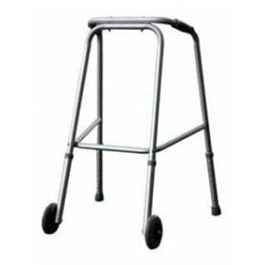 הליכון קבוע עם שני גלגלים קדמיים גלגלים למבוגר