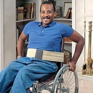 """חגורה לכסא גלגלים – עובי 10 ס""""מ"""