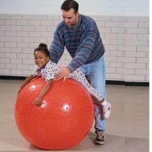 כדור פיזיו עם זיזים