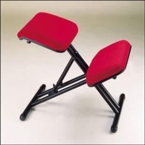 כסא ברכיים מתקפל ממתכת (יציבון)