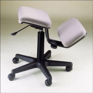 כסא ברכיים פנאומטי מתכוונן (יציבון)