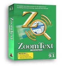ZoomText Magnifier – זום טקסט תוכנת הגדלה