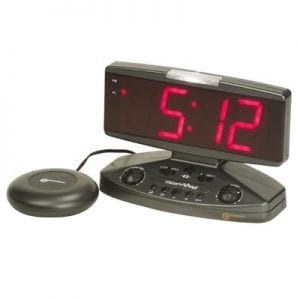 An electric alarm clock-Geemarc