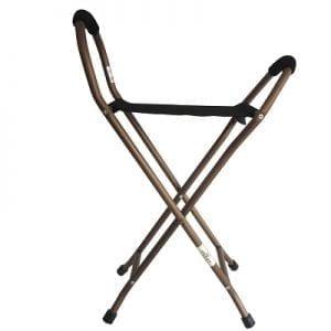 מקל כסא 4 רגליים – עם מושב בד