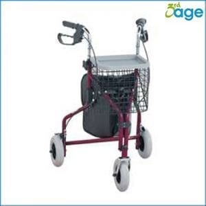 Roltur 3 wheels with bag, basket and tray