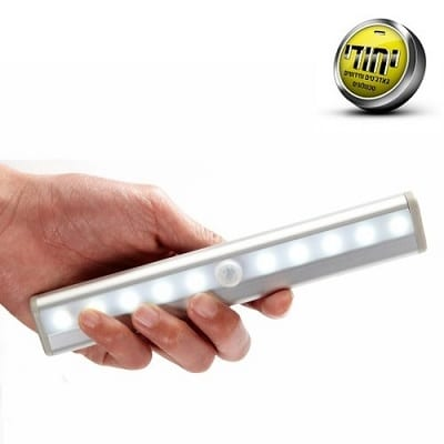 LED light bulb operated by motion sensor