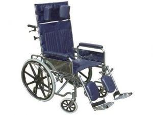 כסא גלגלים רקליינר