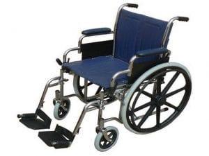 כסא גלגלים רחב וחזק במיוחד לכבדי משקל