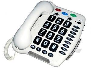 טלפון לאנשים עם לקות שמיעה ולמבוגרים