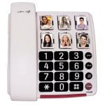 Large-button phone