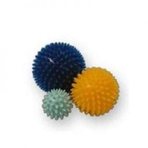 Spikes ball for training wrist