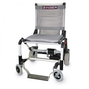 Electric motorized and Zinger folding chair