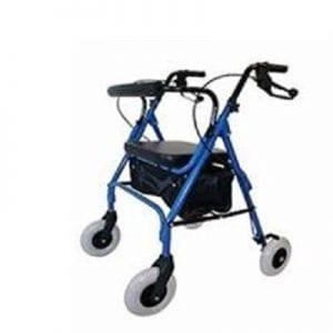 רולטור  קל משקל מתקפל 4 גלגלים