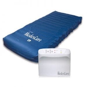 Dynamic Active Air mattress from Dex care MEDEX care for pressure wounds