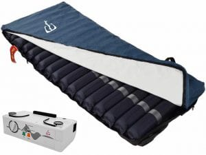 Mattress for the prevention of pressure wounds-a dynamic air mattress 1-2 ' Eitan '