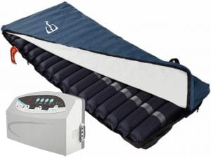 Mattress for the prevention of pressure wounds-a dynamic air mattress 3-4 ' Eitan '