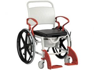 A bathing and toilet self-propelled chair model ' GENF '