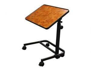 שולחן למיטה על גלגלים חזק ואיכותי