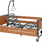 Electric adjustable nursing bed including mattress, triangle and ECOFIT S transportation