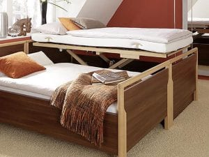 Electric Double Adjustable Bed