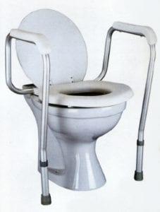 ידיות אחיזה לשירותים