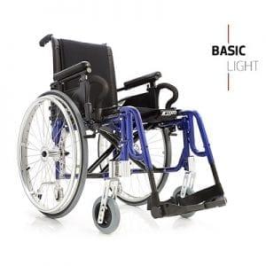 כסא גלגלים קל משקל – BASIC LIGHT