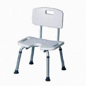 כסא רחצה למבוגרים עם פתח U