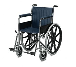 כסא מוסדי ידיות ורגליות קבועות