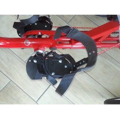 Pair of CNC pedal splints