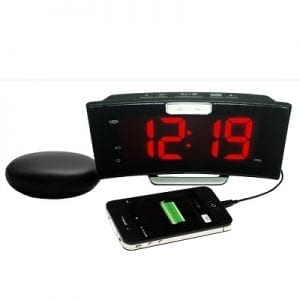 Alarm Clock electric with CURVE vibration cushion