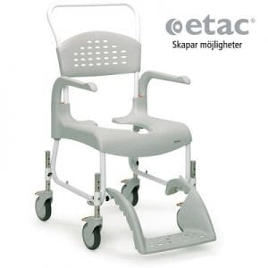 Toilet chair with telescopic height-Clean High ad
