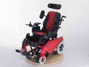 Wheelchair and stair climber on one device
