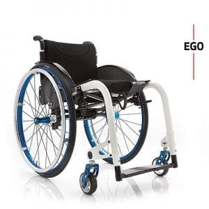 EGO/EGO CUSTOM-Lightweight wheelchair