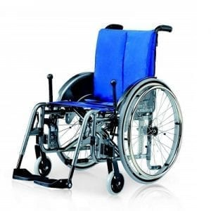 כיסא גלגלים פיינס חצי מקצועי Finess Hemi Spezial