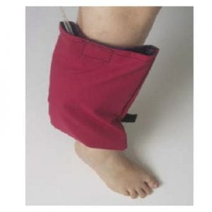 Personal urine bag for foot