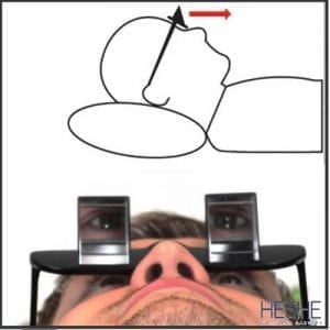 Presetic glasses for reading and viewing