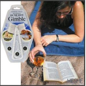 מחזיק ספר – Gimble