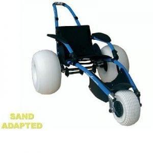 כסא גלגלים לחוף הים